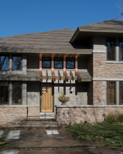Traditional Exterior by Curt Hofer & Associates