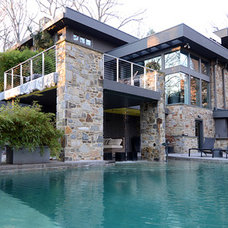Contemporary Exterior by Jeanine Turner