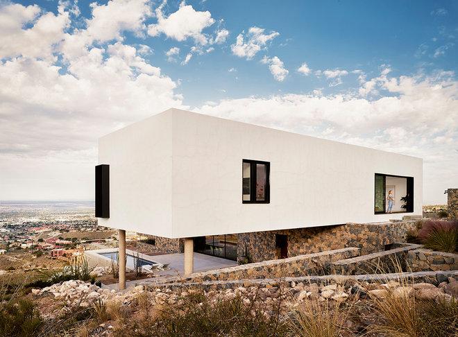 Modern Exterior by hazelbaker rush