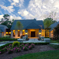 Transitional Exterior by kevin akey - azd architects - michigan