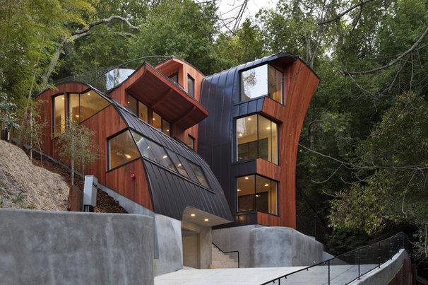 Modern Exterior by Bernard Andre Photography