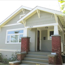Traditional Exterior by CertaPro Painters of North Seattle