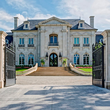 French Classical House in Dallas, TX