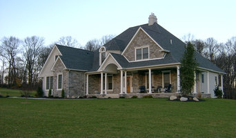 French Colonial Custom Home - Front