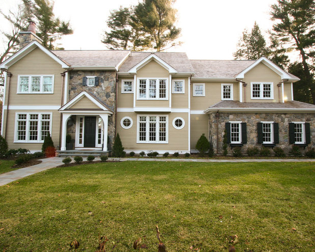 Curb appeal 10 updated architectural styles for Updated colonial home exterior