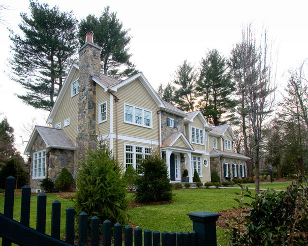 Traditional Exterior by DSA Architects