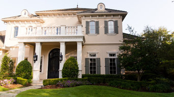 French Colonial Home Entry