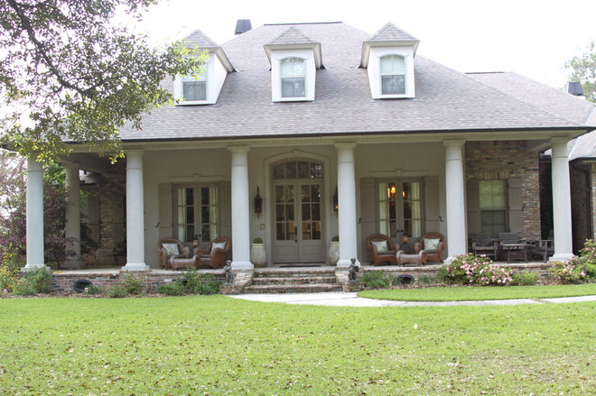 Traditional Exterior by Interiors 360
