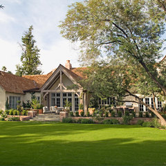 traditional exterior by BERGHOFF DESIGN GROUP