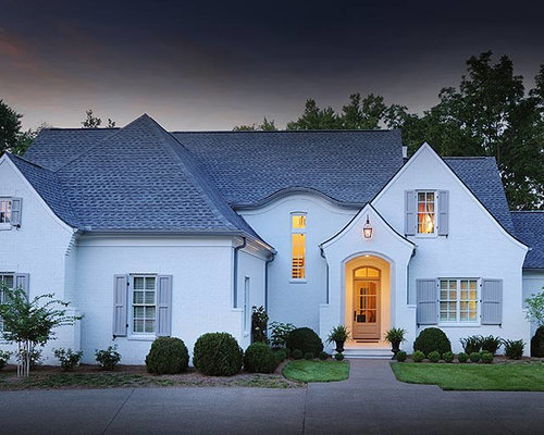 Transitional french country exterior design ideas for French country design exterior