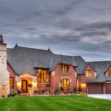 Traditional Exterior by J L Thompson Design Group