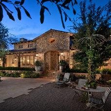 Mediterranean Exterior by Higgins Architects