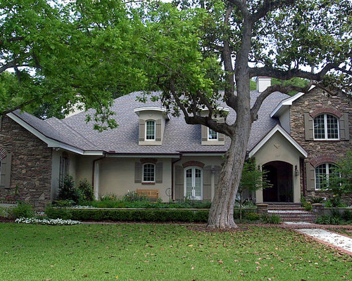 Small French Country Exterior Home Design Ideas Remodels