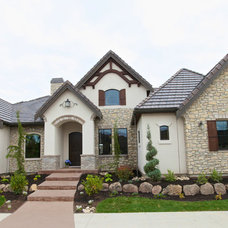 Traditional Exterior by Jennifer Baldwin Design