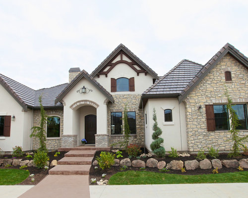 french country home exterior design ideas - Country Home Exterior