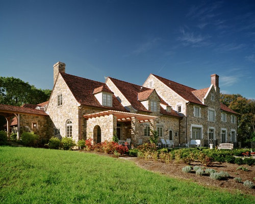 French country homes houzz for Mediterranean country house