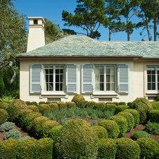 Traditional Exterior by John Malick & Associates