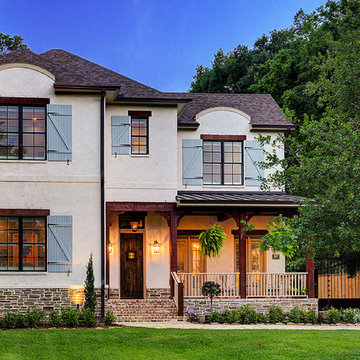 French Country in Garden Oaks - Home Exterior