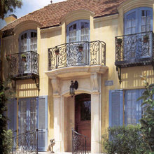 french country balconies