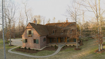 French Country Model House