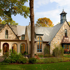 Traditional Exterior by Charles Vincent George Architects, Inc.