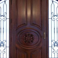 Traditional Exterior by Evelyn Eshun Interior Design