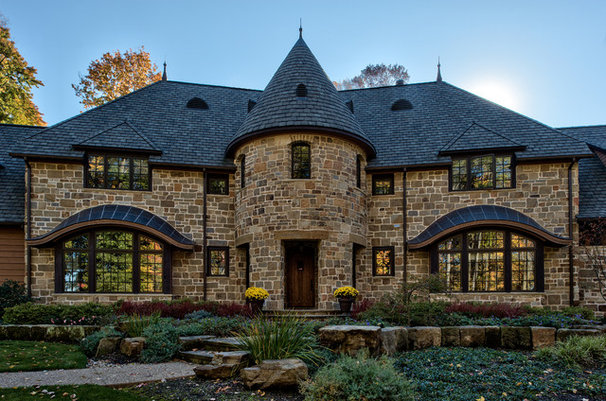 Traditional Exterior by George Clemens Architecture, INC