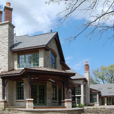 Traditional Exterior by Linden Group Architects
