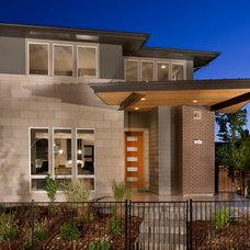 Contemporary Exterior by Coronado Stone Products