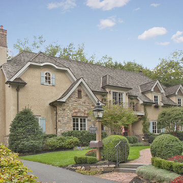 French Tudor-Style Home