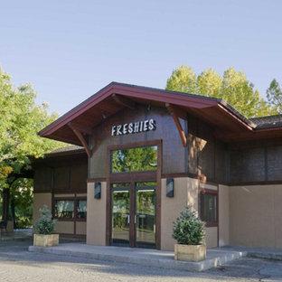 Eclectic exterior home idea in Denver