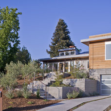 Contemporary Exterior by John Lum Architecture, Inc. AIA
