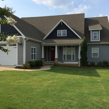 From Yellow to Grey house in Opelika, AL