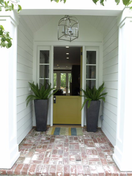 Traditional Exterior by Bill Cope Design