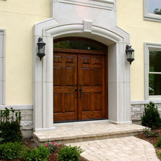 Traditional Exterior by Mandy Brown