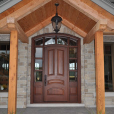 Traditional Exterior by Homestead Woodworks