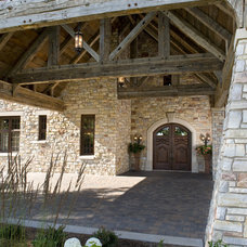 Traditional Exterior by Marie Meko, Allied ASID