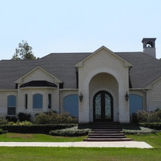 Traditional Exterior by Charles Todd Helton, Architect