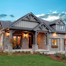 Craftsman Exterior by Doug Tarry Homes