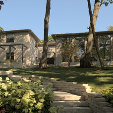 Contemporary Exterior by Highgate Builders