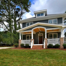 Craftsman Exterior by J. R. Huntley Homes