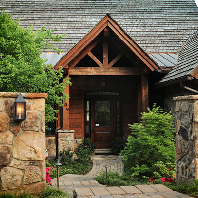 King Post Truss Exterior Design Ideas Pictures Remodel And Decor