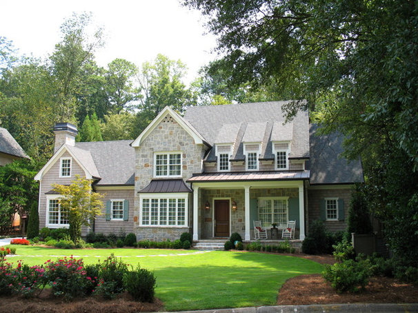 Traditional Exterior by Greg Mix - Registered Architect