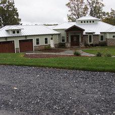 Contemporary Exterior by McSpadden Custom Homes