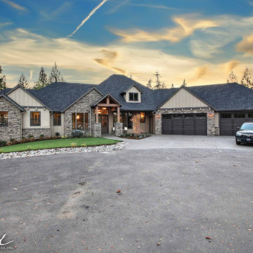 Front Elevation - The Ascension - Super Ranch on Acreage