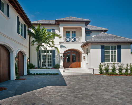 Side Drive Garage Home Design Ideas Pictures Remodel And