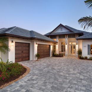 House Single Storey Tropical Houzz