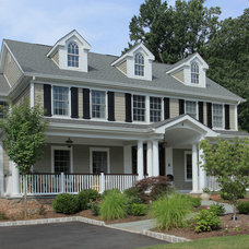 Traditional Exterior by BarbaBuilders, Inc