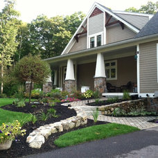 Craftsman Exterior by A Cut Above Landscaping Inc.