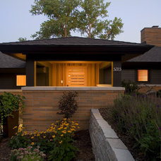 Contemporary Exterior by Choice Wood Company